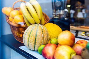 Kostenfreier Obst- und Gemüsekorb